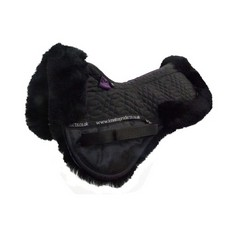 KM Elite High Wither Half Pad (Black)