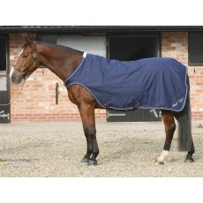 Mark Todd Horse Walker/Lunge Rug (Navy & White)