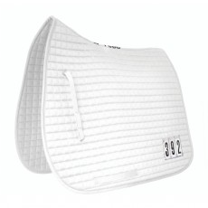 Mark Todd Dressage Pad With Competition Numbers (White)