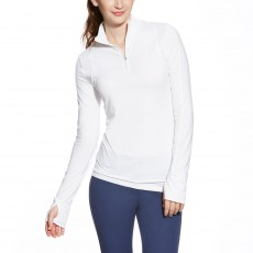 Ariat Women's Lowell Quarter Zip (White)