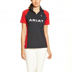 Ariat Women's Team Cambria Quarter Zip Top (Navy)