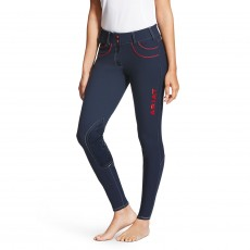 Ariat Women's Team Olympia Acclaim Knee Patch (Navy)