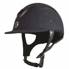Gatehouse Conquest MKII Riding Hat (Suedette Navy)