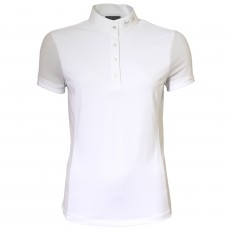 Mark Todd Amber Ladies Competition Polo Shirt (White)