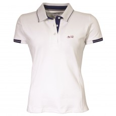 Mark Todd Women's Betty Polo Shirt (White)