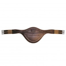 Mark Todd Deluxe Leather Elasticated Stud Girth (Havana)