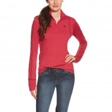 Ariat Women's Lowell Quarter Zip (Dahlia)