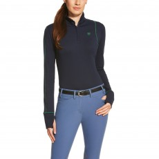 Ariat Women's Lowell Quarter Zip (Navy)