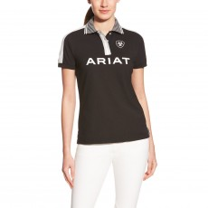 Ariat Women's FEI Team Polo (Black)