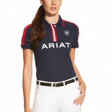 Ariat Women's FEI Team Polo (Navy)