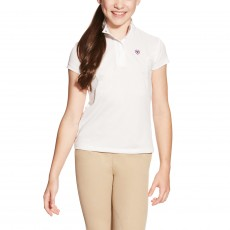 Ariat Kids' FEI Aptos Show Top (White)