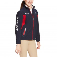 Ariat Kids' FEI Team Softshell (Navy)