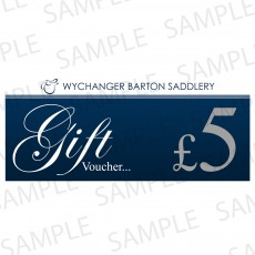 Wychanger Barton Gift Voucher 5 Sterling