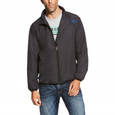 Ariat Men's Ideal Windbreaker Jacket (Black)