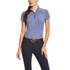 Ariat Women's Odyssey Seamless Top (Cobalt Heather)