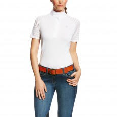 Ariat Women's Aptos Vent Tek Show Shirt (White)