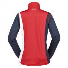 Musto Women's Cross Country Top (Red/True Navy/White)