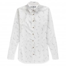 Musto Women's Country Printed Shirt (White Feather)