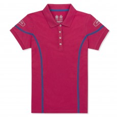 Musto Women's Team Polo Shirt (Bright Rose)