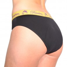 Derriere Equestrian Women's Performance Padded Panty (Black)