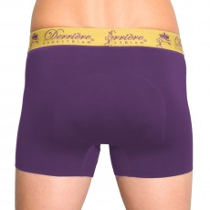 Derriere Equestrian Men's Performance Padded Shorty (Purple)