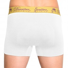 Derriere Equestrian Men's Performance Padded Shorty (White)