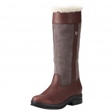Ariat Women's Windermere Fur H2O Insulated Boot (Dark Brown)