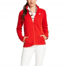 Ariat Women's Lux Full Zip (Molten Lava)