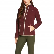Ariat Women's Vivid Softshell Jacket (Malbec)