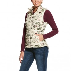 Ariat Women's Ideal Down Vest (Hunt Print)