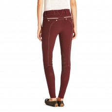 Ariat Women's Olympia Acclaim Knee Patch Breeches (Malbec)