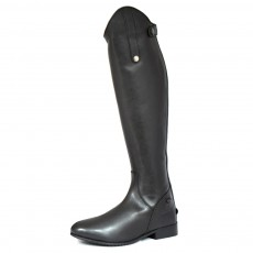 Mark Todd Adults Long Leather Riding Boots (Black)