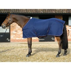 Mark Todd Cotton Sheet (Navy & White)