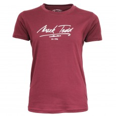 Mark Todd Women's Claire T-Shirt (Burgundy)