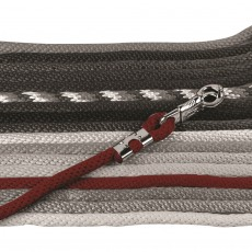 Mark Todd Brass Clasp Lead Rope (Burgundy)