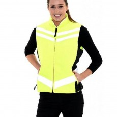 Equisafety Women's Quilted Gilet (Yellow)