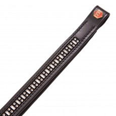 Albion KB Double Dot Dash Swarovski Crystal Browband