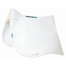 Griffin Nuumed HiWither Half Wool Fishtail Saddlepad (Dressage)