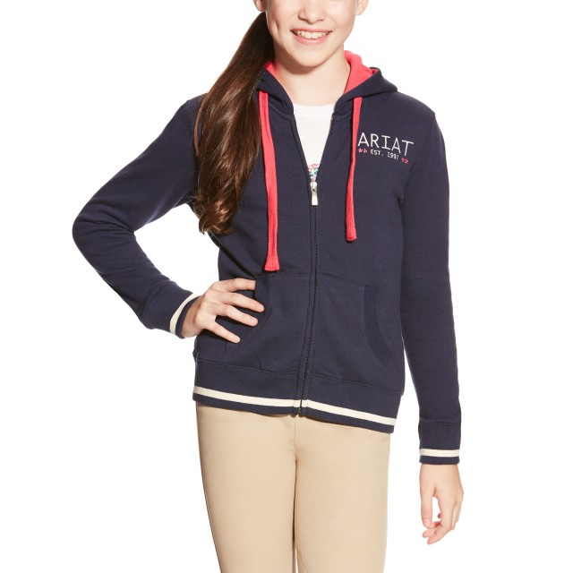 Ariat Kid's Cali Hoodie (Navy Eclipse)