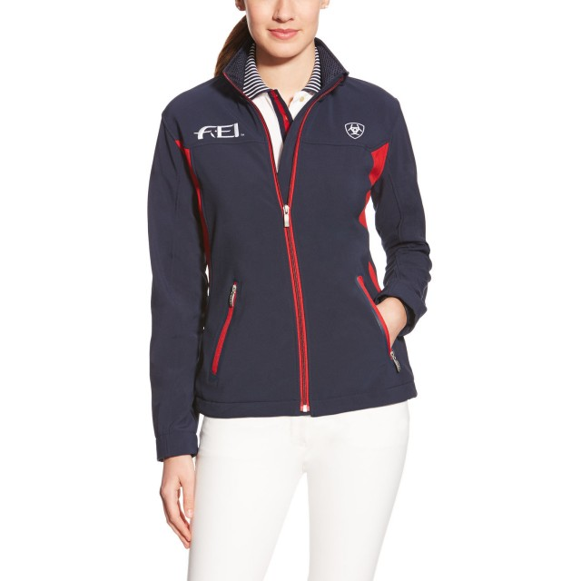 Ariat Women's FEI Team Softshell Jacket (Navy)