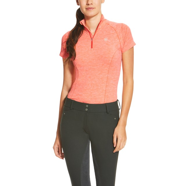 Ariat Women's Odyssey Seamless Top (Peach Heather)