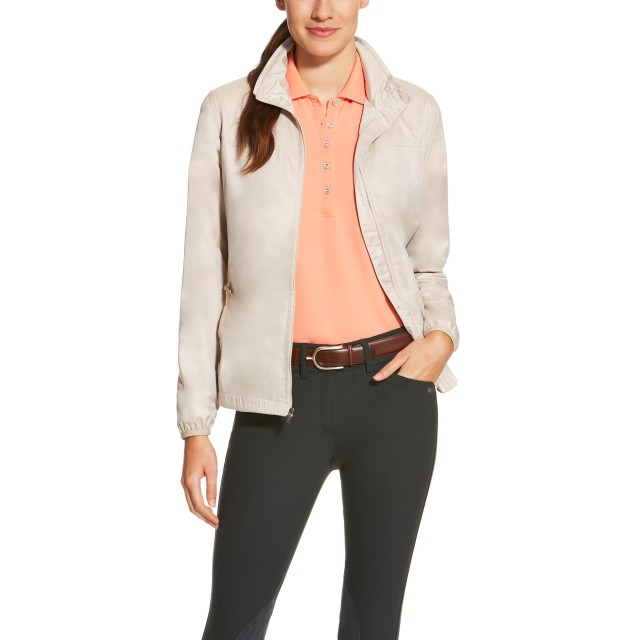 Ariat Women's Ideal Windbreaker Jacket (Oatmeal)