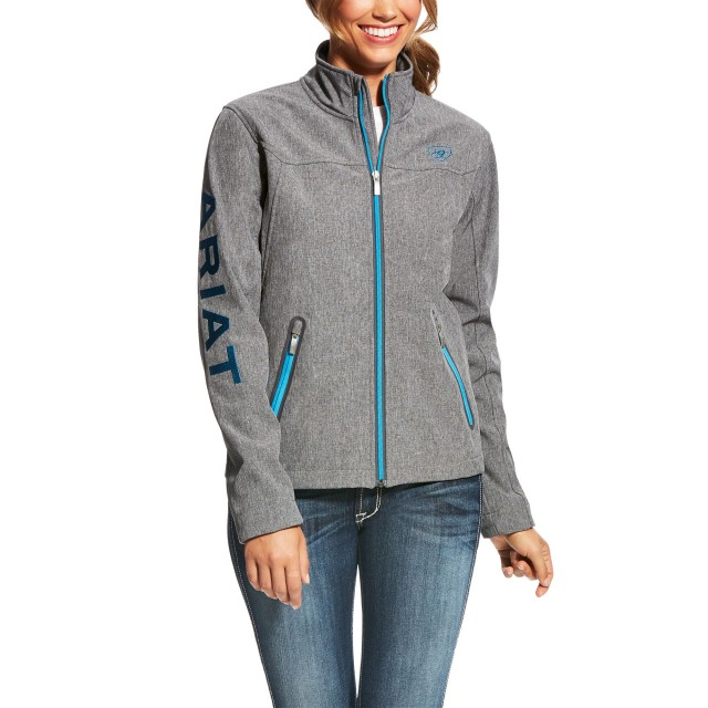 Ariat Women's New Team Softshell Jacket (Charcoal)