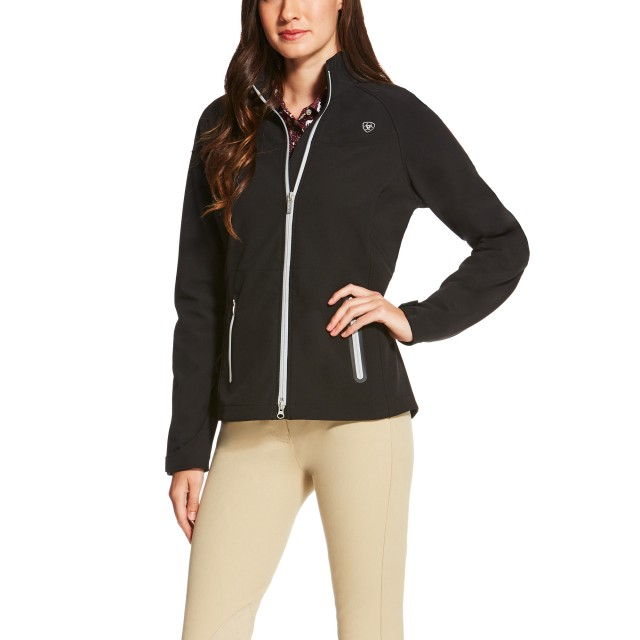 Ariat Women's Vivid Softshell Jacket (Black)