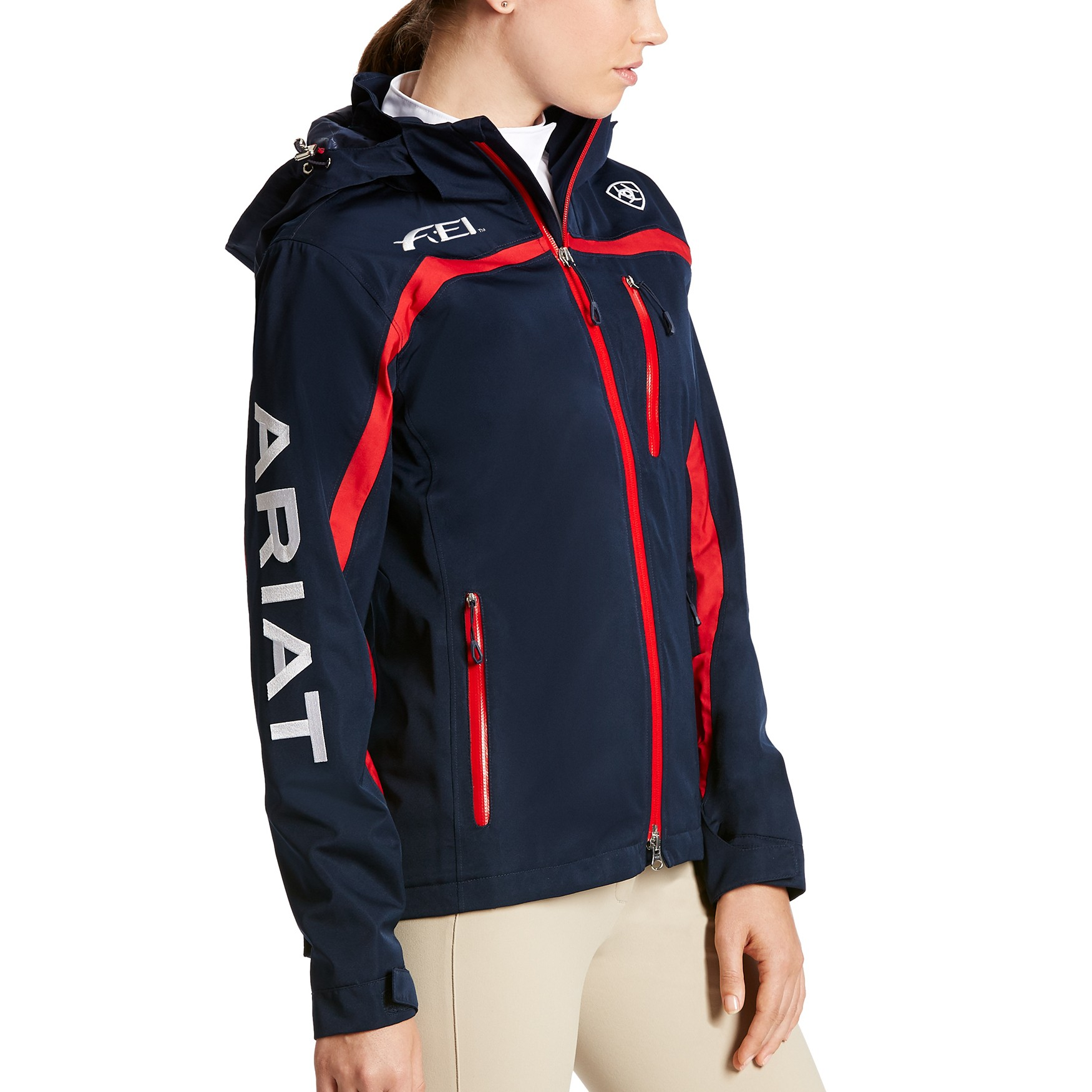 Ariat Women S Fei Team Ii Waterproof Jacket Wychanger Barton