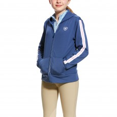 Ariat (Sample) Girl's Milton Hoodie (Indido Fade)