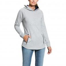 Ariat Women's 3D Logo Hoody (Heather Grey)
