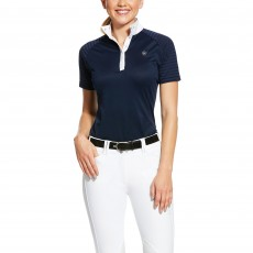 Ariat Women's Aptos Vent Show Shirt (Navy)