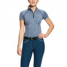 Ariat Women's Odyssey Base Layer (Deep Petroleum Heather)