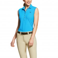 Ariat Women's Sleeveless Prix Polo 2.0 (Nautilus)